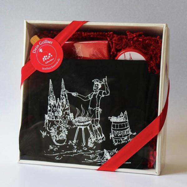Köln Geschenke Grill Set