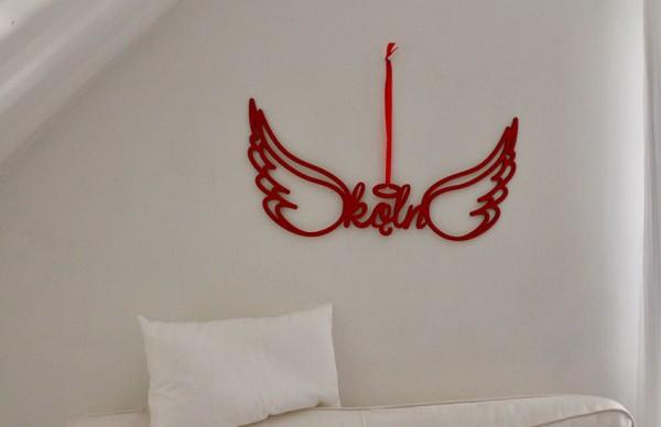 Wanddeko Köln Flügel